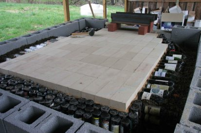 The hearth and more insulation