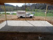 vegetable packing shed slab
